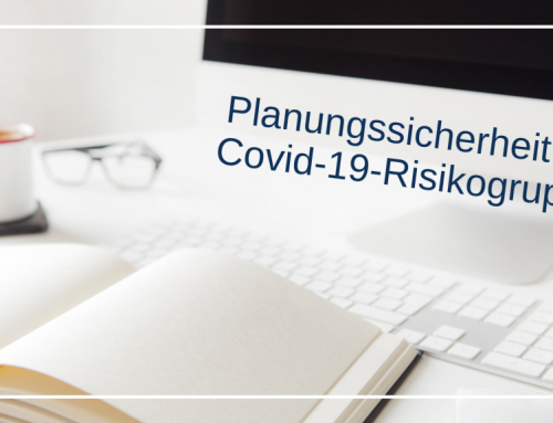 Planungssicherheit für Risikogruppe