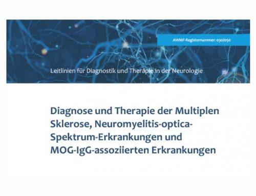 Leitlinie für MS-Diagnostik und -Therapie