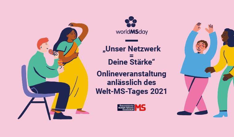 Unser Netzwerk = deine Stärke. Welt-MS-Tag 2021