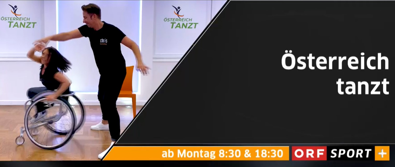 Screenshot Österreich tanzt, Tanzschule Chris