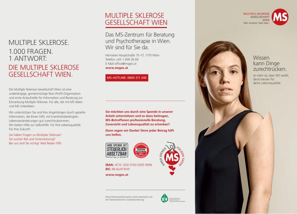 Cover der Informationsbroschüre für MS-Betroffene